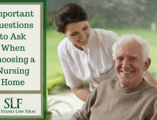 Important Questions to Ask When Choosing a Nursing Home