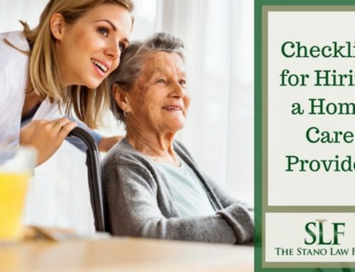 Checklist for Hiring a Home Care Provider