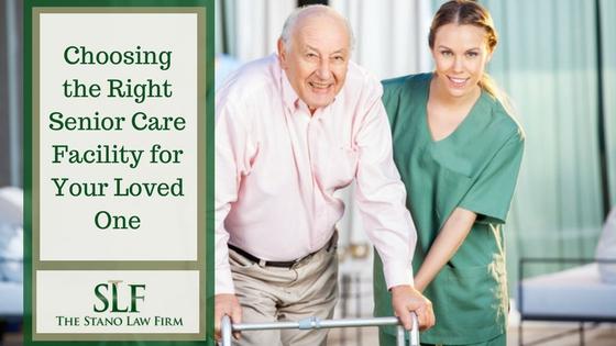 Choosing the right senior care facility