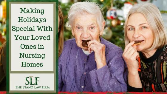 Celebrating holidays in nursing homes