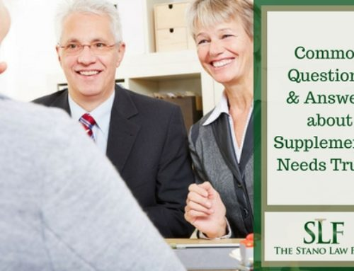 Common Questions and Answers about Supplemental Needs Trusts