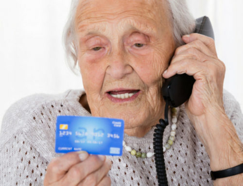 Ensuring Your Elder Loved One Isn't Being Scammed
